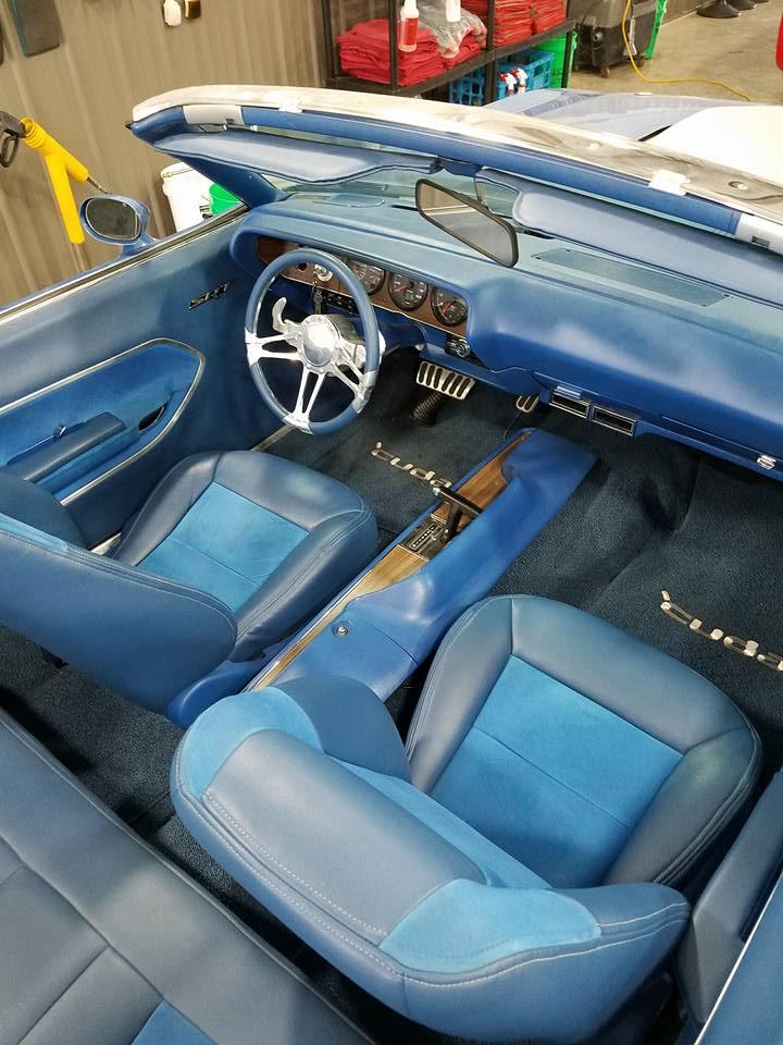 Detailing car interior